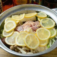さっぱりレモン鍋