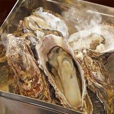 三陸産 バケツで牡蠣の酒蒸し 大小混合8個