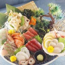 本日の日替り魚家特鮮盛