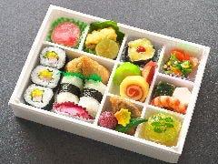 寿司付きエール飯