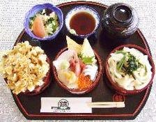 海の三福丼