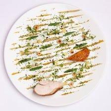 皿の上の芸術を堪能