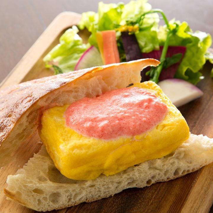 横須賀の人気パン屋さん「zacro」のフォカッチャを使ったサンド