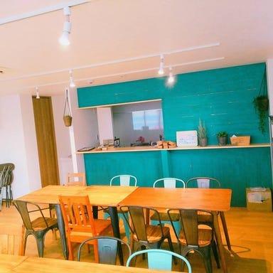 one drop cafe  店内の画像