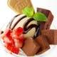 濃厚生チョコの贅沢チョコレートパフェ