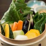 季節の野菜を味わうなら和美禅コース!素材の味をご堪能下さい♪