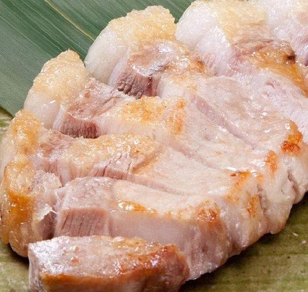 平田牧場北海道飼育の三元豚、旨み、甘味、絶品です。