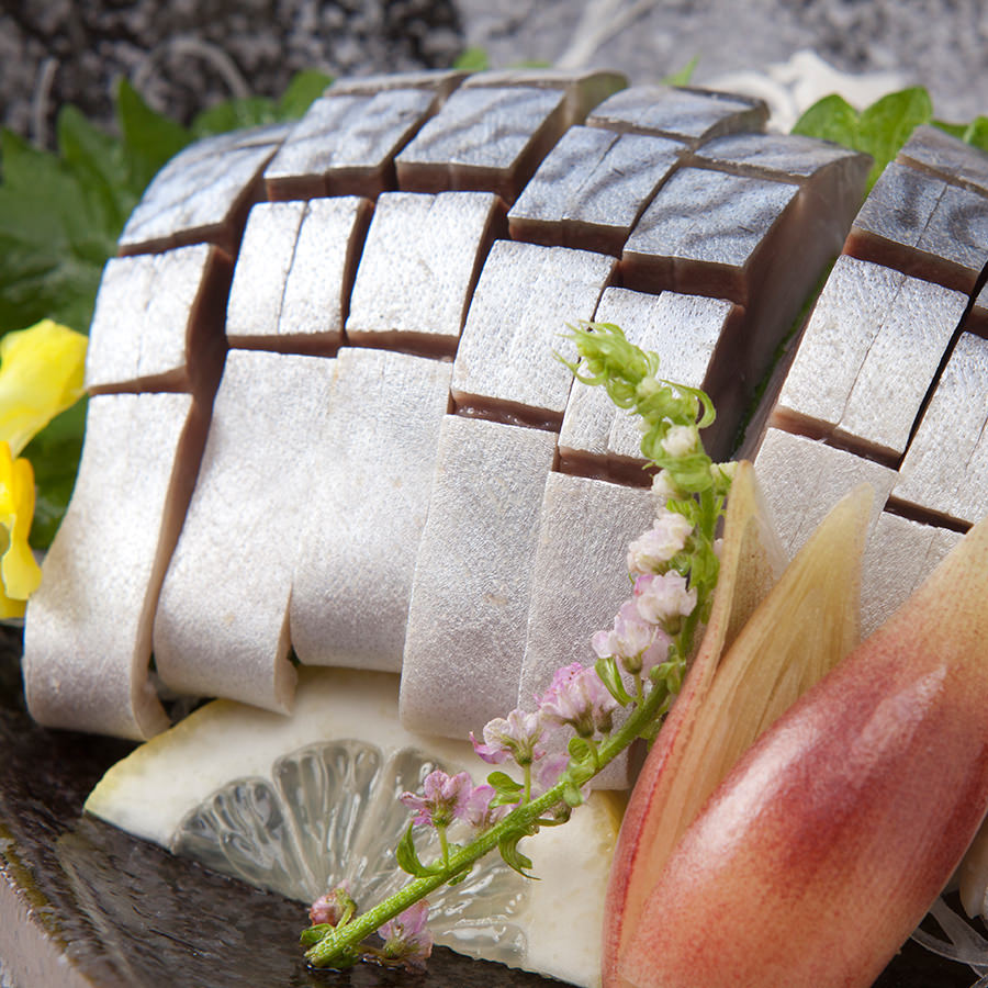 【名物】自家製〆鯖料理