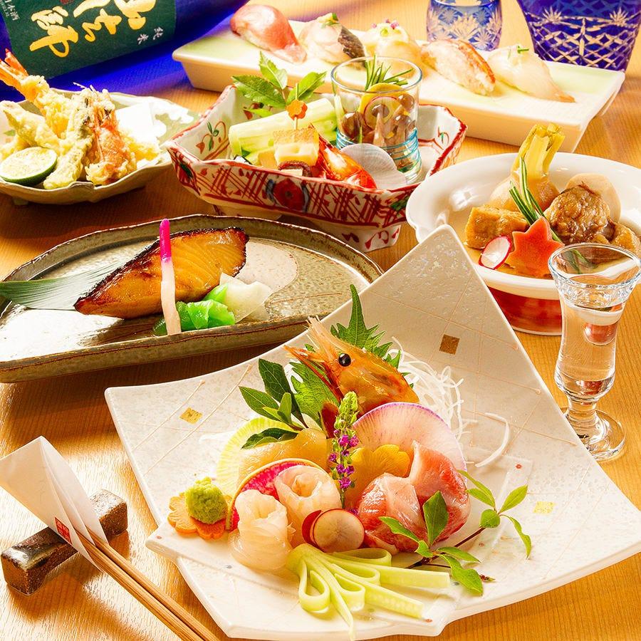 接待・会食はもちろん、ご宴会や記念日に旬の料理でおもてなし。