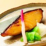 銀鱈柚庵焼き
