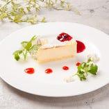 チーズ屋さんのチーズケーキ