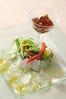 日替わり鮮魚のカルパッチョ 土佐酢のジュレ添え