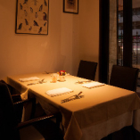 落ち着いたお食事が愉しめる隠れ家レストラン