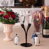 誕生日・記念日に…《5大特典》乾杯カクテル・名前入りメニュー作成・バースデープレート・記念撮影・ミニプレゼントをサービスにてご用意致します