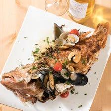 新鮮鮮魚のヘルシーイタリアン