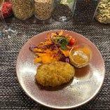 魚介と野菜のPiacere特製トロトロクリームコロッケ