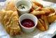 名物 Fish&Chips! テイクアウトもできます。