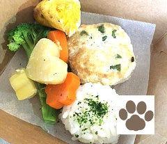 Dog わんこランチBOX(豆腐ミンチ・鳥ムネ・お野菜・米・パンプキンスコーン)