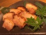 味噌豚の炙り