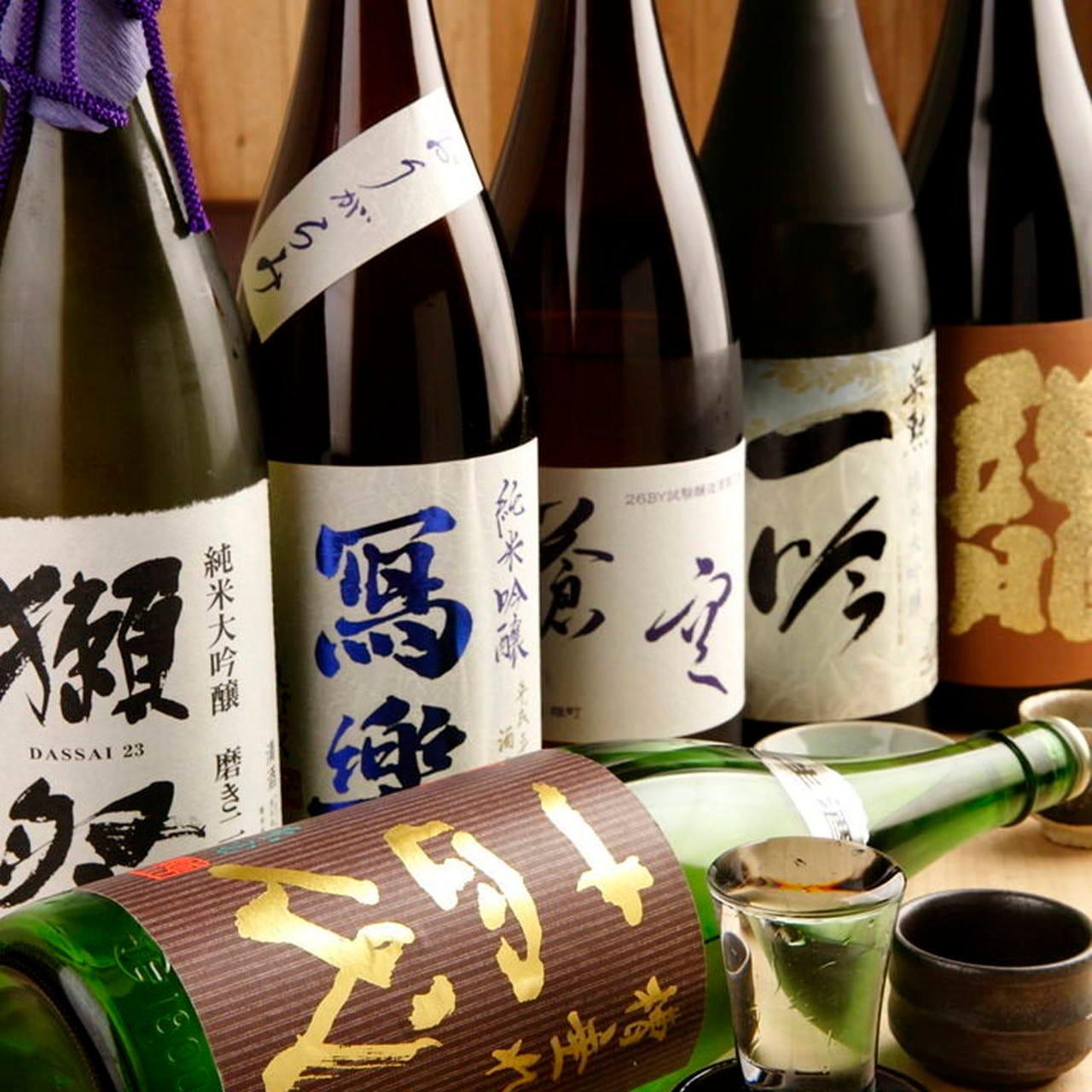 【飲み放題】コースにプラスで注文可!全ての日本酒OKプランも