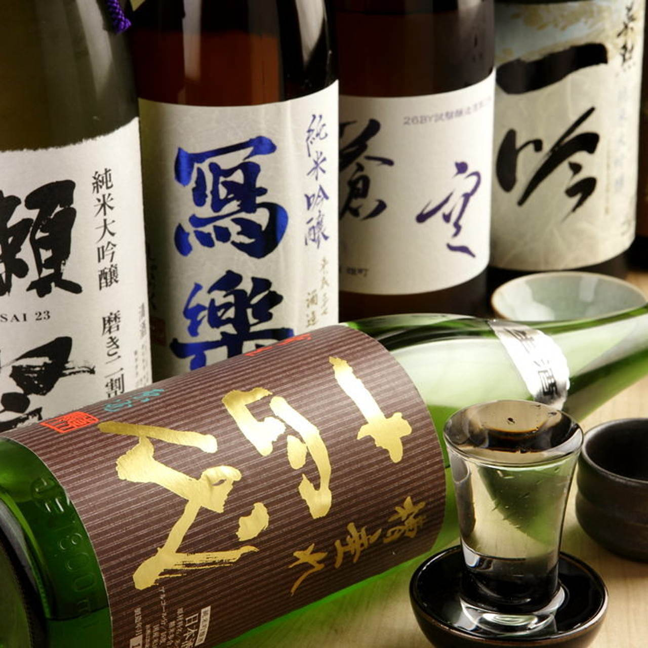 全国各地の日本酒を約120種類ご用意