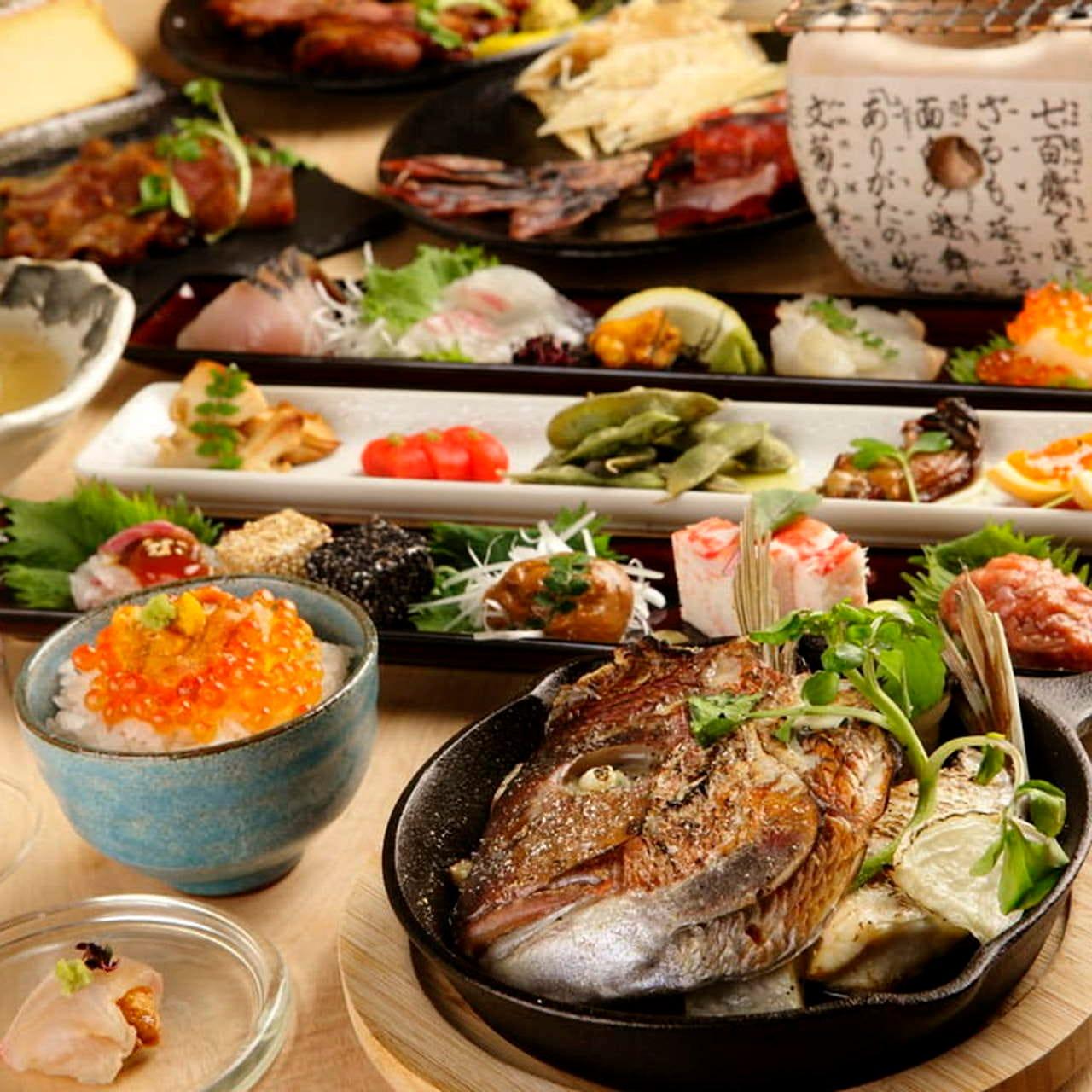 お料理のみコース1,500円~ご用意