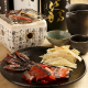 七輪で炙りながら楽しむ燻製も♪日本酒片手にちりちりと♪