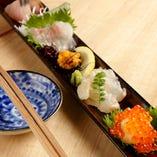 お魚も新鮮な美味しいの取り揃えてます