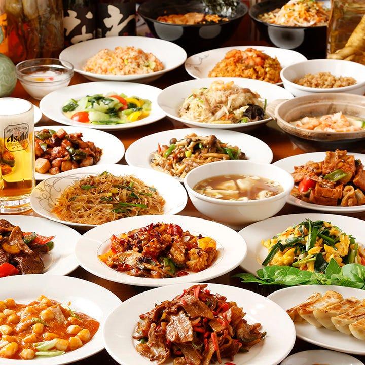 170種の中華をオーダー式食べ飲み放題で堪能!コースは3,300円~