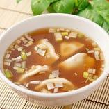 スープも美味い逸品料理
