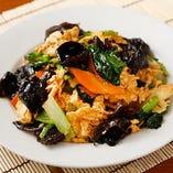 五目野菜炒め 自慢のひと皿