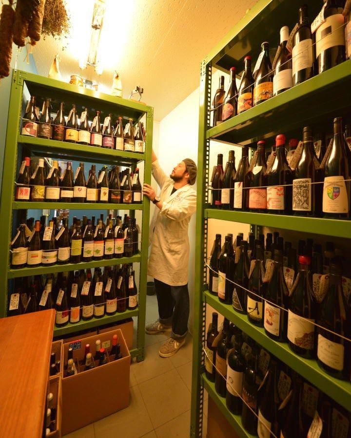 ワインセラ-から選ぶ自然派ワイン