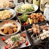 ご宴会にオススメ!お得な飲み放題付きコースは3000円~ご用意。