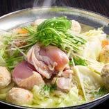寒い季節にぴったり「鶏昆布だしの水炊き鍋」