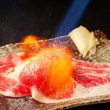 名物!炙り肉寿司「さしとろ」