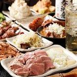 各種ご宴会ならお得な飲み放題付きコースがお薦め!