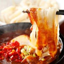 名物! 麻婆豆腐刀削麺