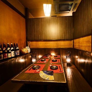 屋台酒場でレモンサワーと創作天ぷら 笑天-しょうてん-知立店 店内の画像