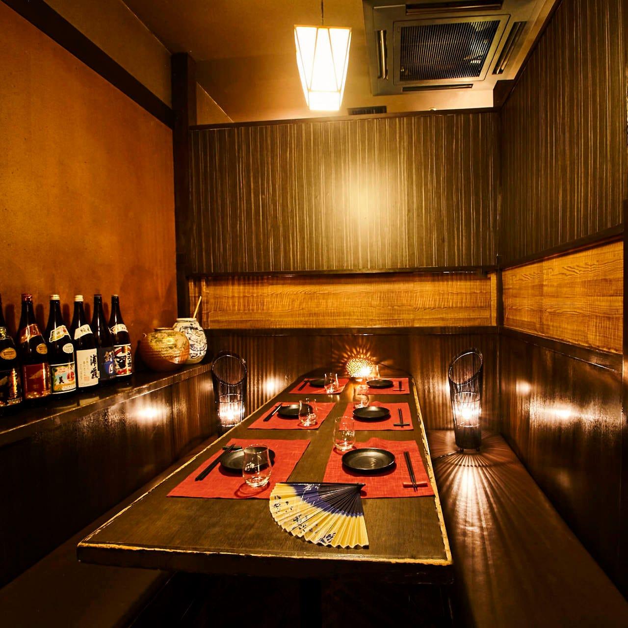 天ぷら居酒屋に個室もご用意
