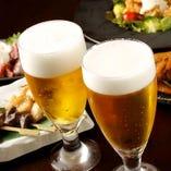 冷たいビールに相性抜群の創作地鶏料理