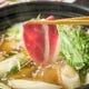 鴨鍋・地鶏すき焼き・カレー鍋・水炊き 5種類の鍋をご用意
