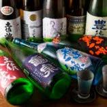 日本酒・焼酎をはじめ、ドリンクも豊富なラインナップ☆