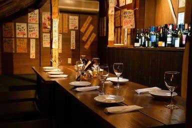 肉とワインと個室 ガルゴッタ 岡崎店 店内の画像