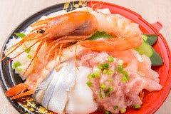 えび魚介丼