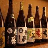 日本酒を筆頭に、カクテルやソフトドリンクも豊富にご用意♪
