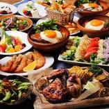 様々な種類のハワイ料理をお楽しみください。