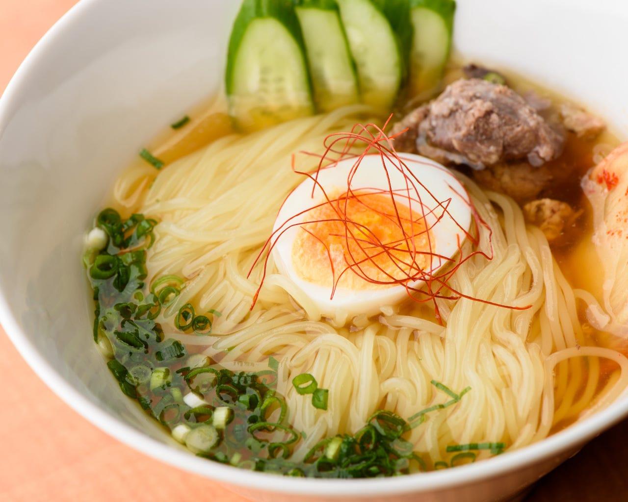 焼肉の後に食べたくなる〆の逸品