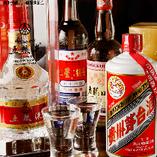 白酒や紹興酒など中国伝統のお酒をご用意しております