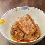 タンの角煮(お通し)