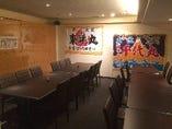 50名様までの団体様のご宴会も完全個室にて承っております。